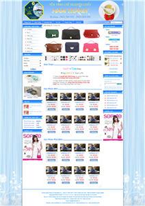 Giao diện web giá rẻ 02