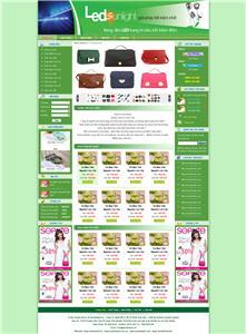 Giao diện web giá rẻ 03