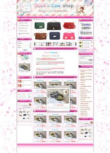 Giao diện website giá rẻ 05