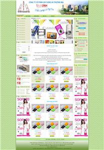 Giao diện web rẻ 08