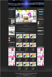 Giao diện web rẻ 09