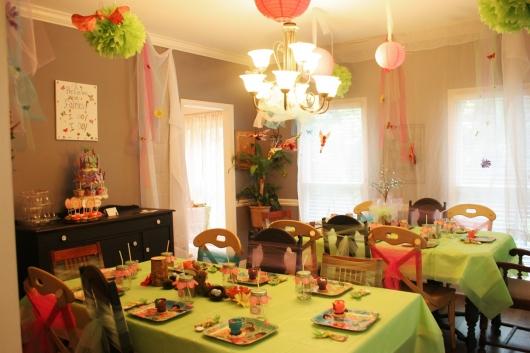 Thực Đơn Tiệc Sinh Nhật Đầu Tiên Của Bé Yêu