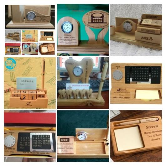 Sản xuất quà tặng gỗ